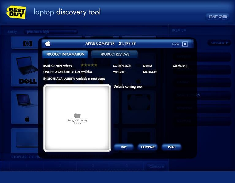 Cena nowego Macbooka Pro w BestBuy.