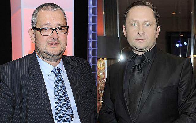 Rafał Ziemkiewicz i Kamil Durczok