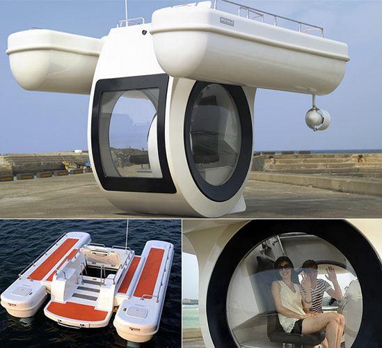 EGO - miniaturowa łódź podwodna dla bogatych