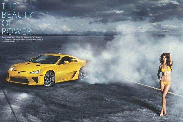 Lexus LFA Nürburgring - reklama z Rianne Ten Haken