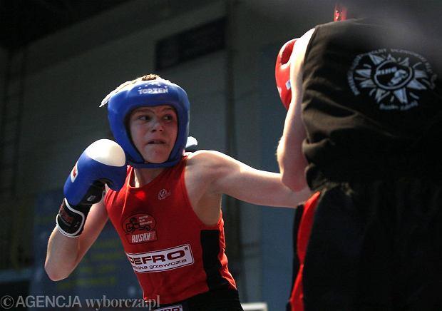 Daniel Adamiec obronił tytuł mistrza Polski w boksie