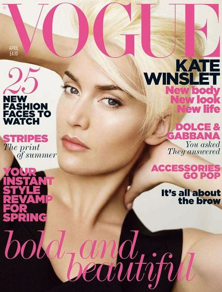 Kate Winslet dla brytyjskiego Vogue'a