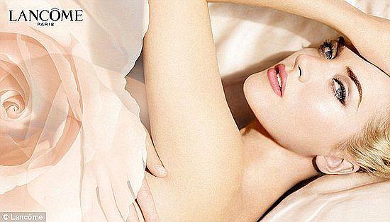 Kate Winslet w kampanii Lancome