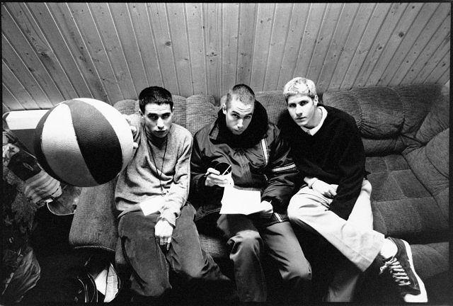 Beastie Boys, w środku Adam Yauch