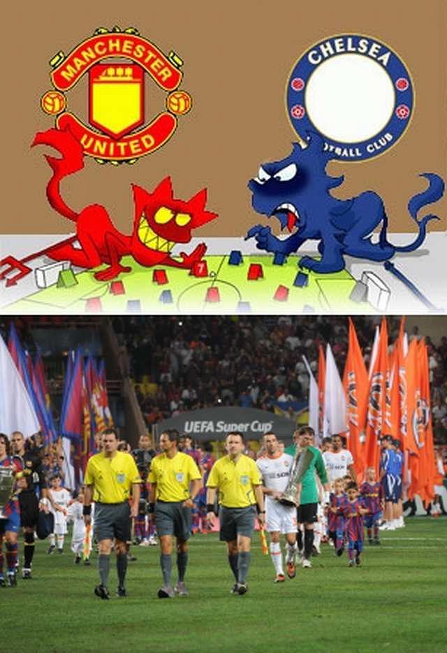 Chelsea Londyn, Mnchester United, Szachtar Donieck, FC Barcelona