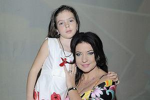 Alicja Węgorzewska z córeczką