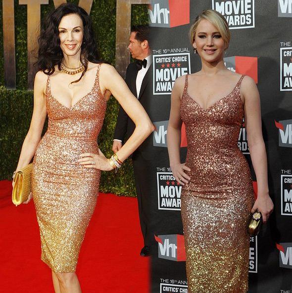 Która lepiej: Jennifer Lawrence czy L'Wren Scott