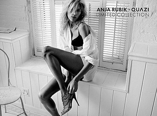 Anja Rubik dla Quazi wiosna/lato 2011