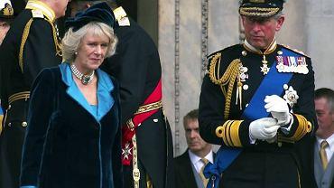 Najstarszy syn Elżbiety II książę Karol z żoną Camillą Parker-Bowles