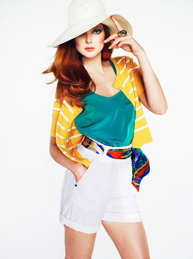 Eniko Michalik - lookbook Mango wiosna/lato 2011