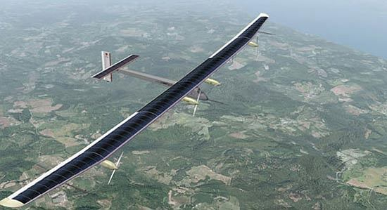 Solar Impulse - samolot na energię słoneczną