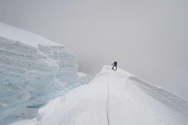 Droga do obozu drugiego. Kinga Baranowska i jej wspinaczkowy partner Fabrizio Zangrilli dotarli tam w środę