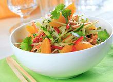 Azjatycka sałatka warzywna - ugotuj