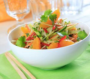 Azjatycka sałatka warzywna