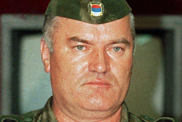 Generał Ratko Mladić, 1992 r.