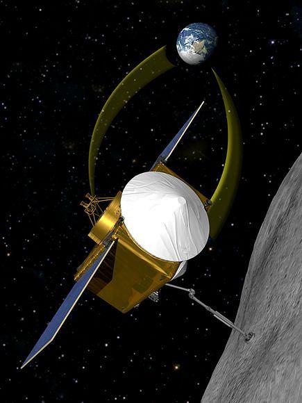 Sonda OSIRIS zbada asteroidę 1999 RQ36