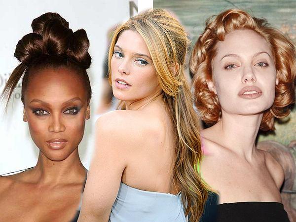 Rozpoznaj gwiazdę po fryzurze