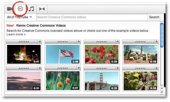 Creative Commons na YT