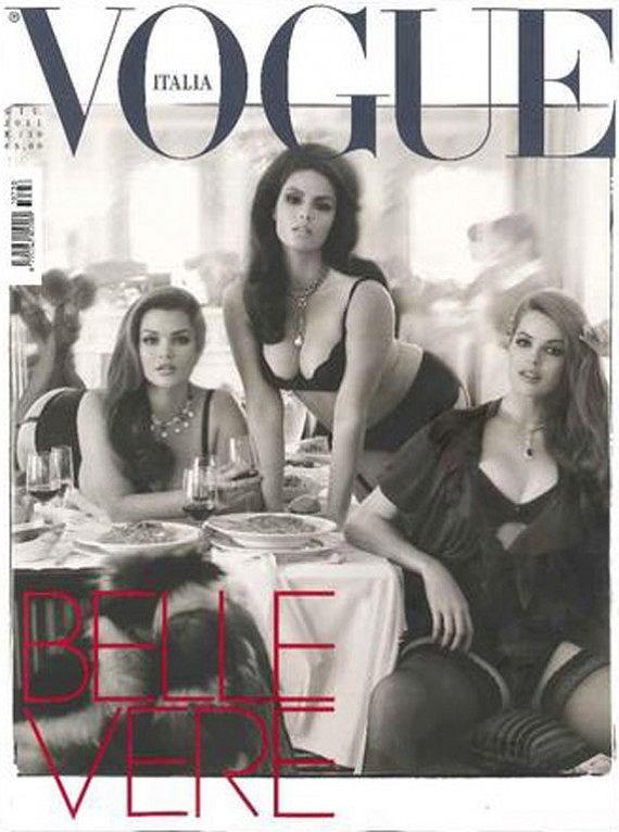 okładka Vogue Italia czerwiec 2011