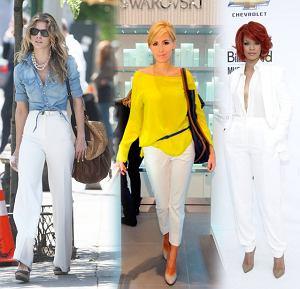 trendy, gwiazdy, lato 2011, wiosna 2011, biel, inspiracje