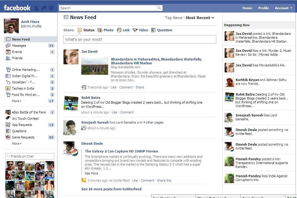 Facebook testuje funkcję