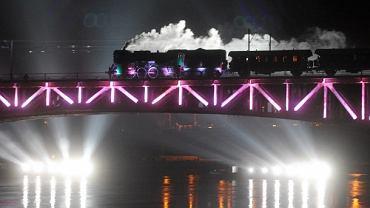 Parada parowozów na Moście Średnicowym