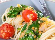 Spaghetti z soczewicą - ugotuj
