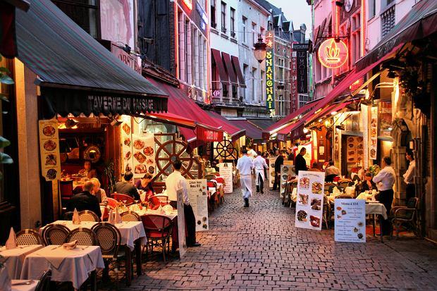 bruksela, kawiarnie, restauracje, belgia