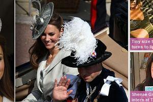 Księżna Kate i książę William.