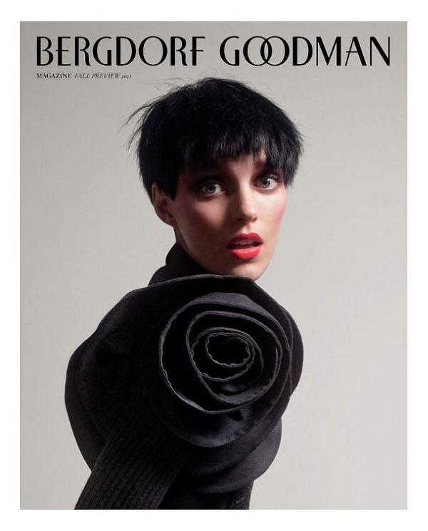 Anja Rubik w kampanii Bergdorf Goodman Pre-Fall 2011