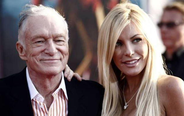Hugh Hefner i Crystal Harris.