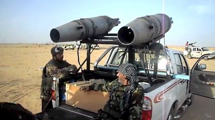 Kombinowana broń w Libii