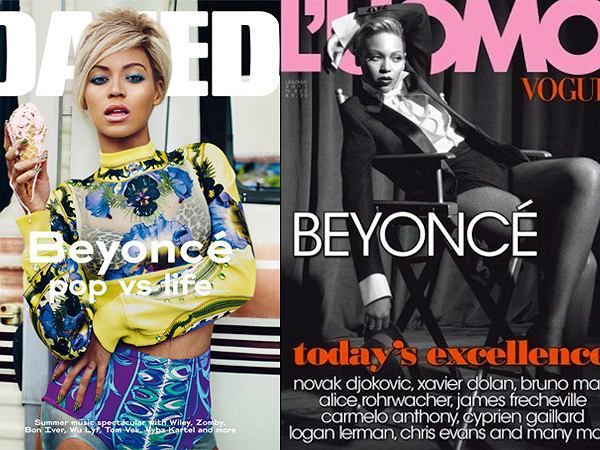 Beyonce na okładkach