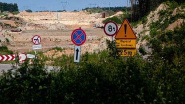 Budowa autostrady A2 w Dmosinie opuszczona przez Chińczyków