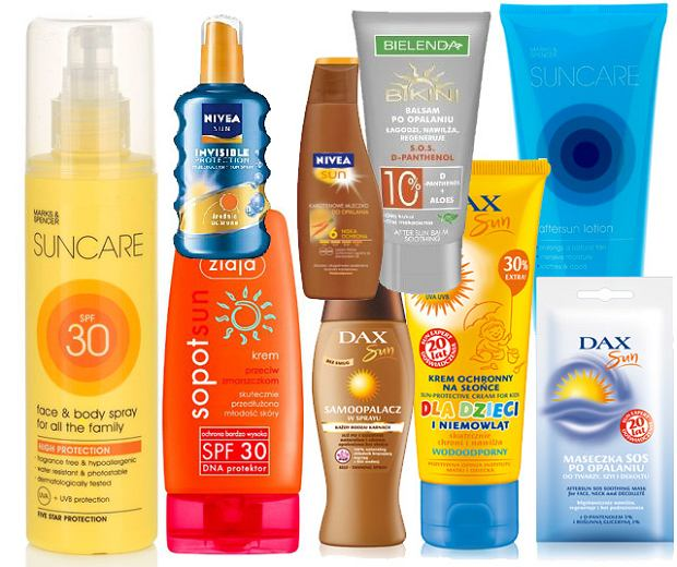Kosmetyki do opalania na lato 2011