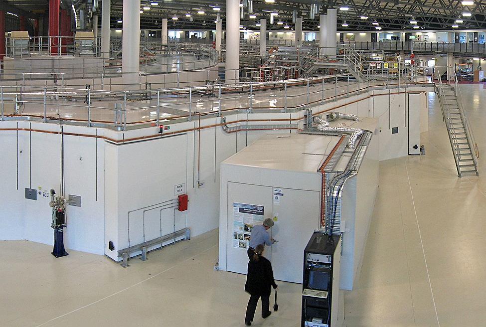 Wnętrze Australian Synchrotron