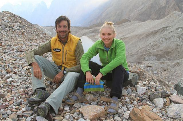 Wyprawa na K2. Kinga Baranowska i Fabrizio Zangrilli