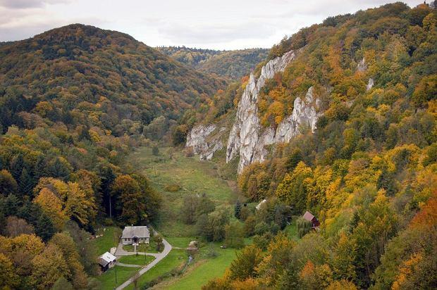 Polska Południowa, Ojcowski Park Narodowy. Najmniejszy, ale wyjątkowo urokliwy park narodowy w Polsce. Tworzą go jaskinie, doliny, wąwozy i skupiska skał, z których najpopularniejsza to Maczuga Herkulesa. Ojcowski Park Narodowy chętnie odwiedzają amatorzy wspinaczki skałkowej. To idealne miejsce również dla miłośników ruin zamkowych, których jest w okolicy mnóstwo.
