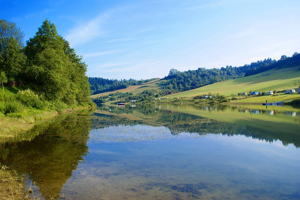 Bieszczady, Jezioro Solińskie