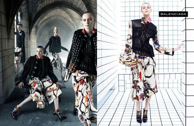 Kampania reklamowa Balenciaga jesień/zima 2011/12