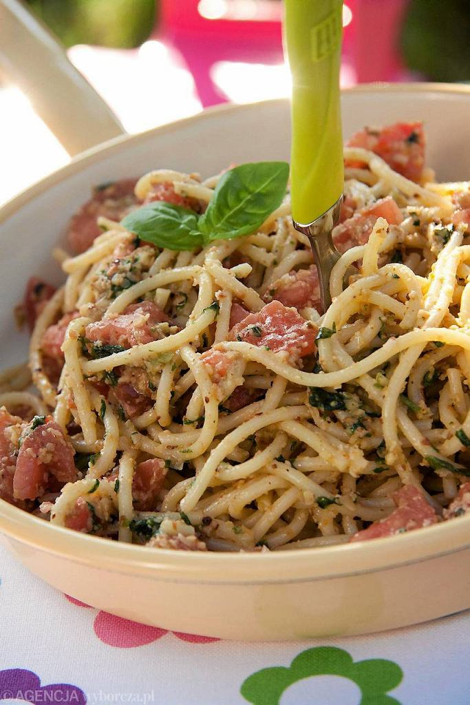 Chrupiące spaghetti