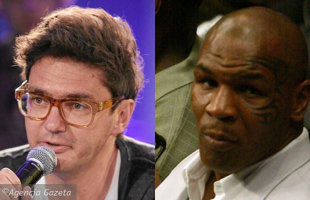 Kuba Wojewódzki i Mike Tyson.