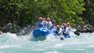 tara, rzeka, rafting, czarnogóra