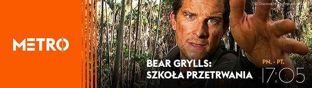 Bear Grylls uczy przetrwania