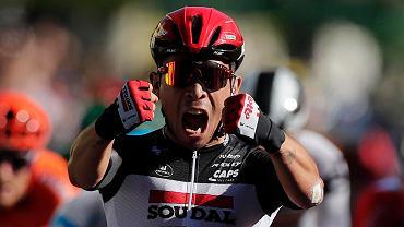 Tour de France. Australijczyk Caleb Ewan wygrał trzeci etap po finiszu z peletonu