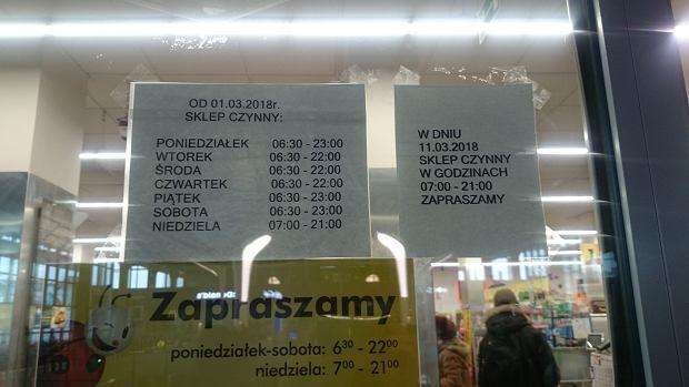 Biedronka na Dworcu Centralnym w Warszawie