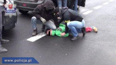 Japończyk zatrzymany przez antyterrorystów.