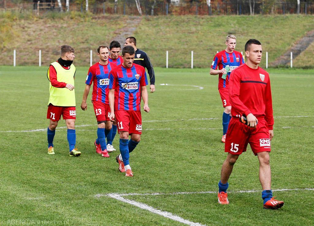 Jesień 2014. Bytom. Szombierki - Polonia 0:0