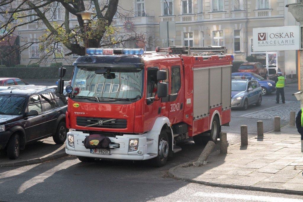 Alarm bombowy w Opolu