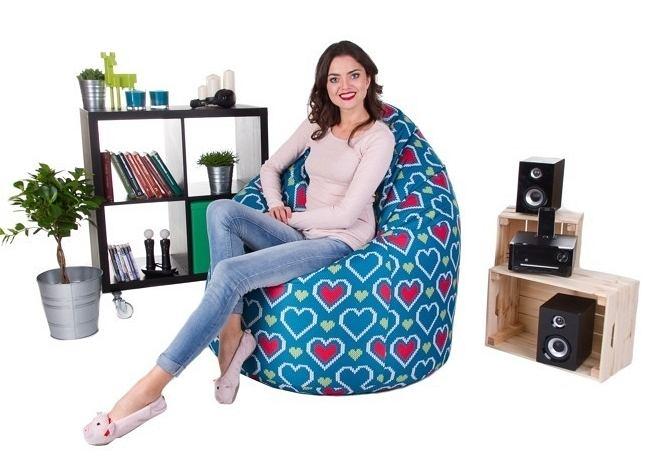 Fotel worek - wygodny i designerski